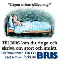 Plugg för BRIS på Elevspel