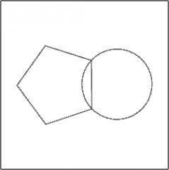 Spelet Geometriska figurer utifrån beskrivning