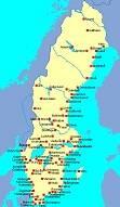 Spelet Sveriges städer och sjöar