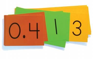 Spelet Multiplikation med decimaltal