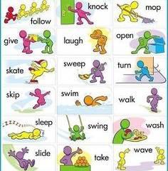 oregelbundna verb engelska spel