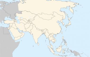 Spelet Länder i Asien