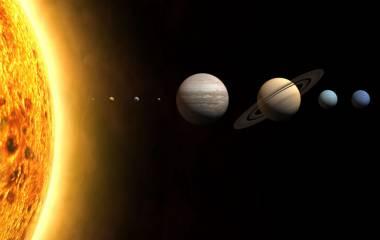 Spelet Planeternas ordning i solsystemet