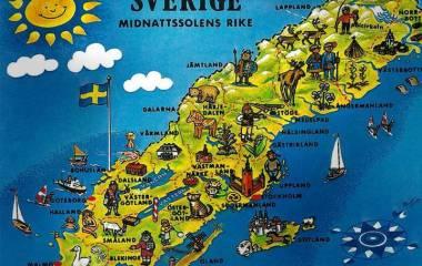 Spelet Sveriges natur och geografi