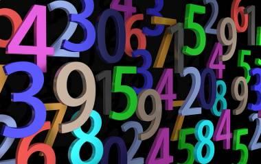 Spelet Siffror och tal med bokstäver