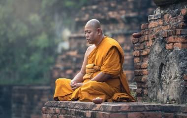 Spelet Lär dig om buddhismen