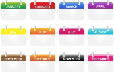 Spelet Dagar, månader och årstider