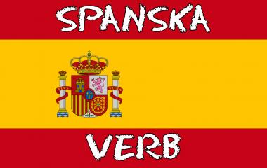 Spelet Spanska verb