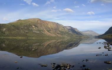 Spelet Nordens berg, sjöar och hav