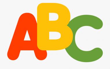 Spelet Läs och skriv korta ord