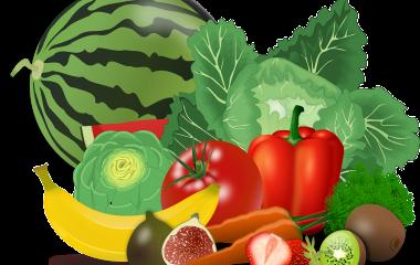 Spelet Bär, frukter och grönsaker