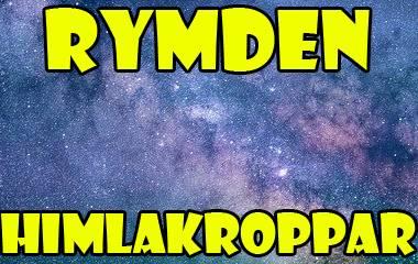 Spelet Rymden - himlakroppar