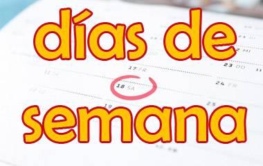 Spelet Veckodagar på spanska