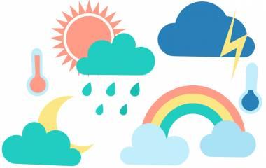 Spelet Ord om vädret på arabiska