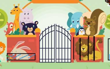 Spelet Djur på arabiska