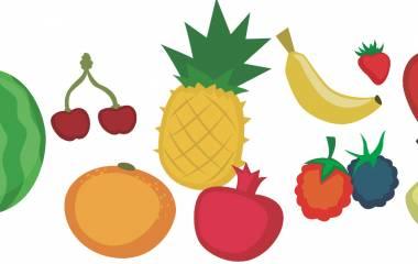 Spelet Frukt på arabiska