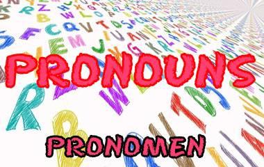 Spelet Pronomen i engelskan