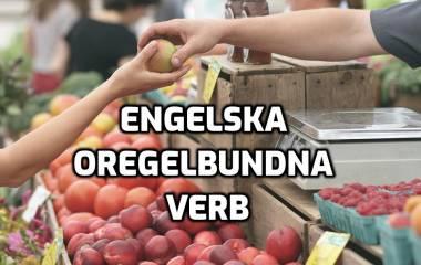 Spelet Engelska oregelbundna verb
