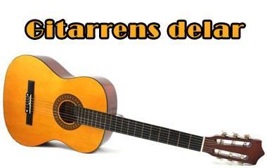 Spelet Gitarrens delar
