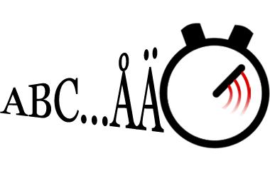 Spelet Skriv alfabetet
