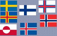 Flaggor Nordens länder
