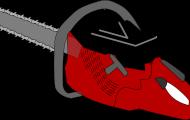 Motorsågens delar