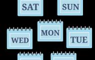 Veckans dagar