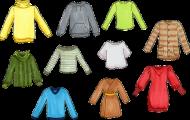 Spela Ord för kläder och mönster