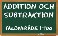 Spela Addition och subtraktion 1-100