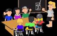 Ord i tyska klassrummet