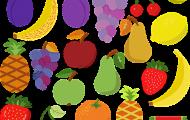 Lär dig frukter och bär
