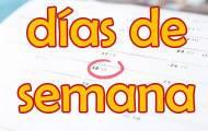Spela Veckodagar på spanska