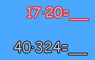 Spela Multiplikation med två- och tresiffriga tal