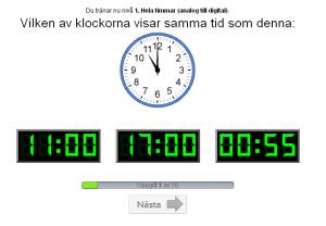 Matcha klockor